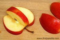 کاردستی تمبر سیب