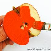 کاردستی مهر سیب