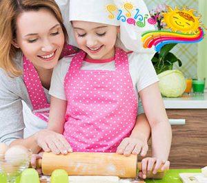آشپزی با کودکان