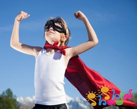 بچه ها قهرمانان خیالی