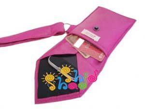 کاردستی با کراوات قاب موبایل
