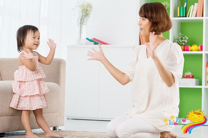 بازی تقلید برای کودک