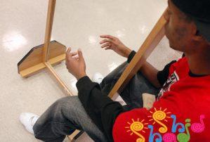 آزمایش علمی با آینه