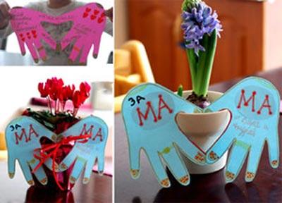 ایده کاردستی روز مادر