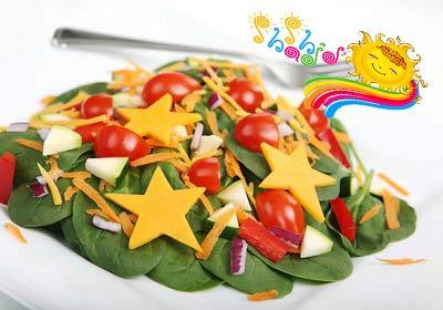 میل به سبزیجات کودکان