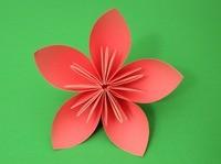 اوریگامی گل (14)