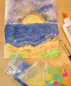 نقاشی با شن