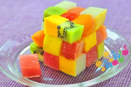 دسر میوه برای کودکان