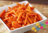 غذای کودک با هویج