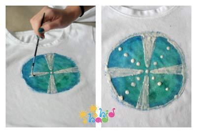 نقاشی-روی-t-shirt
