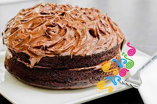 دستور کیک با نوتلا