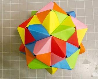 اوریگامی مدولار
