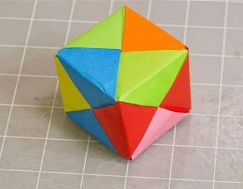 اوریگامی-مکعب