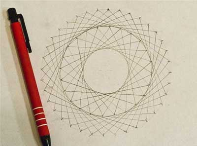 ترسیم-دایره-هم-مرکز