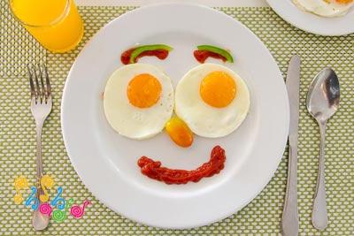 صبحانه-کودک