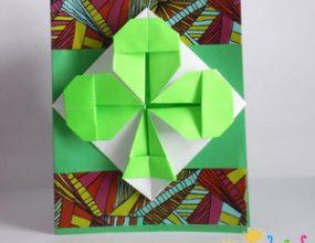 origami-shamrock