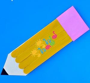 کاردستی مداد