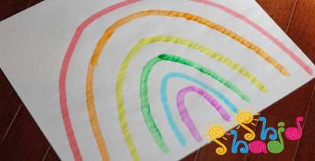 بازی-آموزشی با لگو رنگین کمان