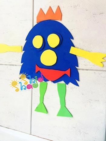 فوم-کاردستی برای کودکان