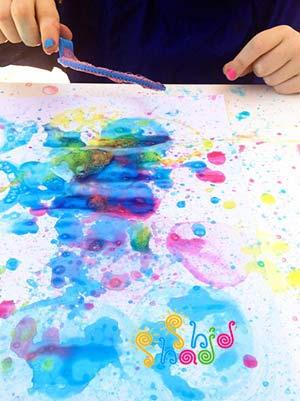 نقاشی-با-حباب