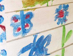 نقاشی-گچ-کودک