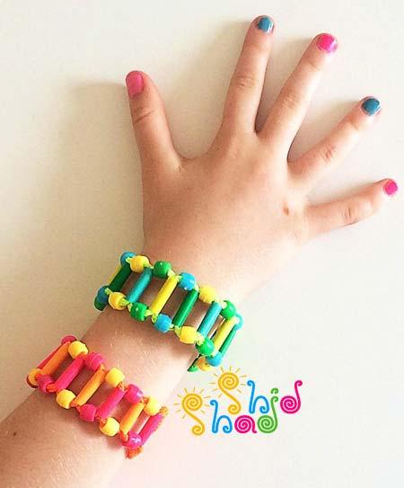 کاردستی-دستبند-کودک
