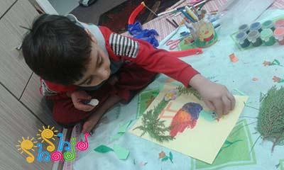 نقاشی-با-کف-دست