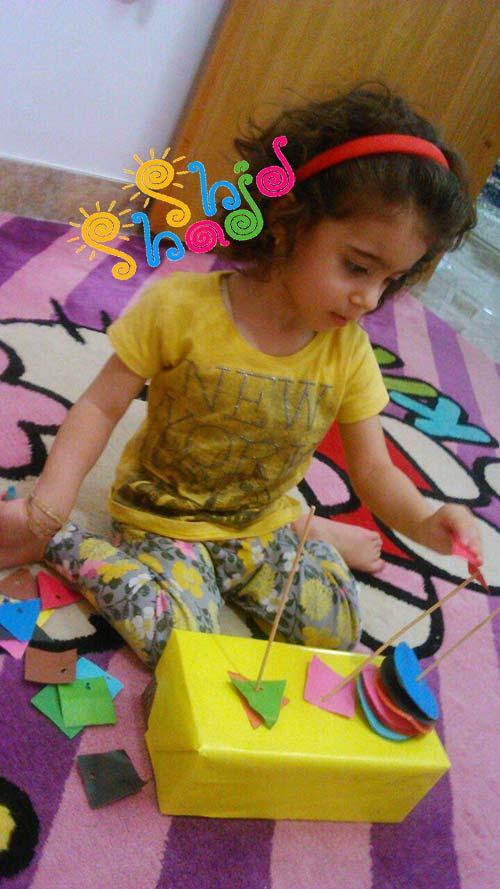 بازی-اشکال-هندسی-و-رنگها