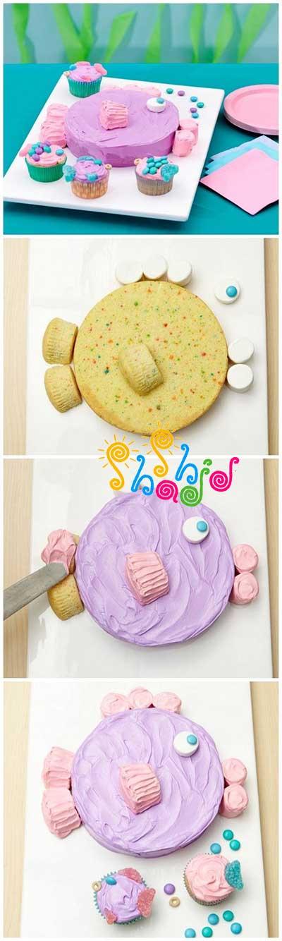تزیین-کیک-تولد-خانگی
