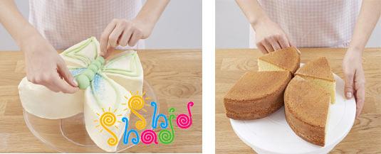 تزیین-کیک-پروانه
