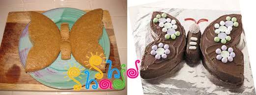 طرز-تهیه-کیک-پروانه