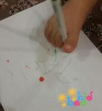 نقاشی-با-پا