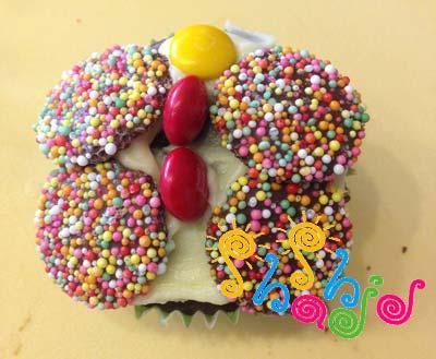 کاپ-کیک-پروانه