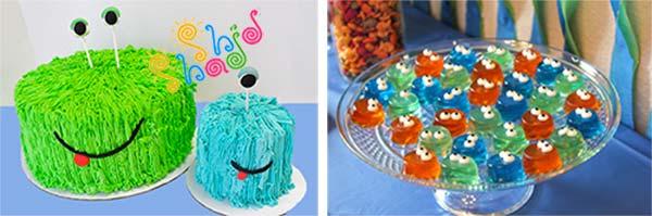 کیک-تولد-هیولا