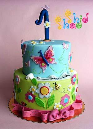 کیک-پروانه