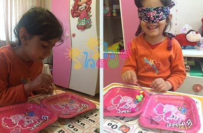 بازی ساده کودکان در خانه