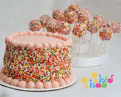 کیک-تولد-ترافل