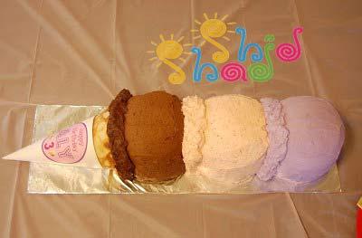 کیک-خانگی-تولد