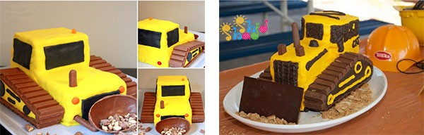 کیک-خانگی-ماشین