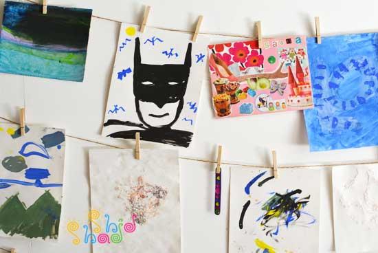 کار-هنری-کودک