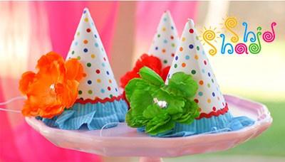 کلاه-تولد-رنگارنگ