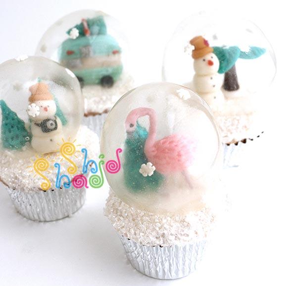 کیک-با-حباب ژله ای