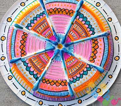Easy-Mandala-Craft-for-Kids
