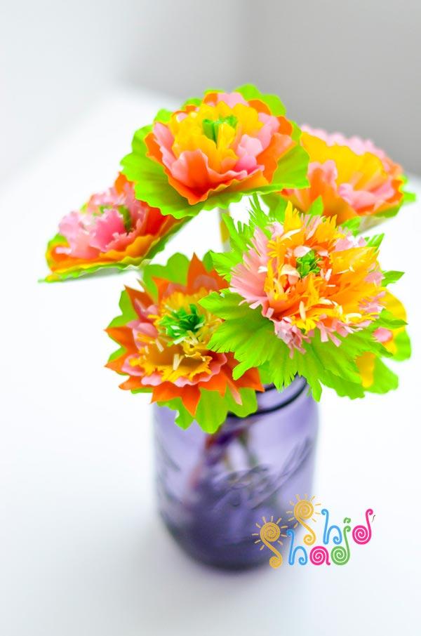 کاردستی-گل