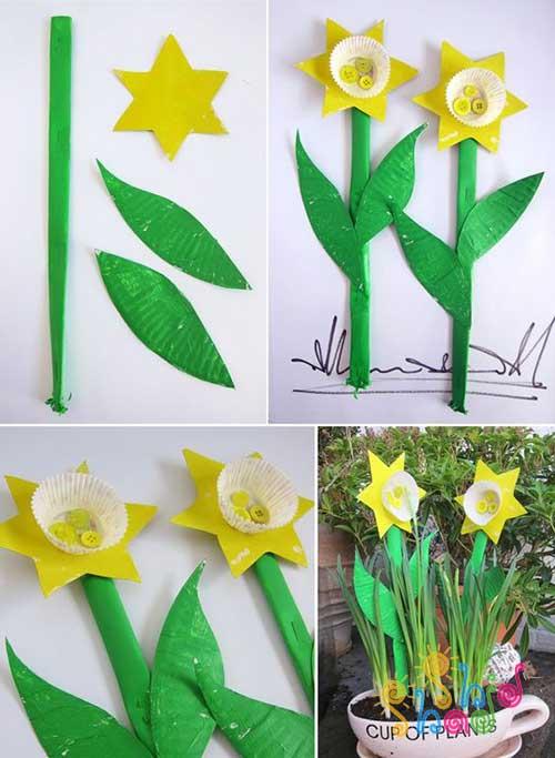 گل-نرگس-کاغذی