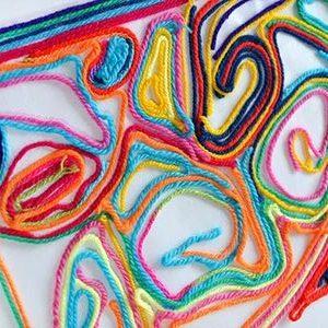 نقاشی با نخ