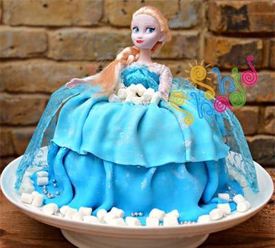 کیک-السا