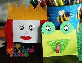 عروسک انگشتی کاغذی