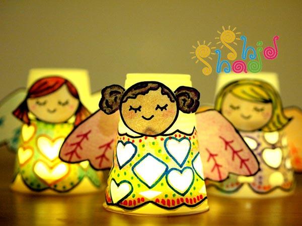 کاردستی فرشته