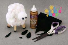 کاردستی-گوسفند-4